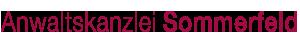 Anwaltskanzlei Sommerfeld – St. Augustin Logo